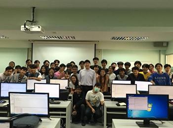 ภาพบรรยากาศการอบรมเตรียมความพร้อม Java Programming ของนักศึกษาปี 1 ปีการศึกษา2561